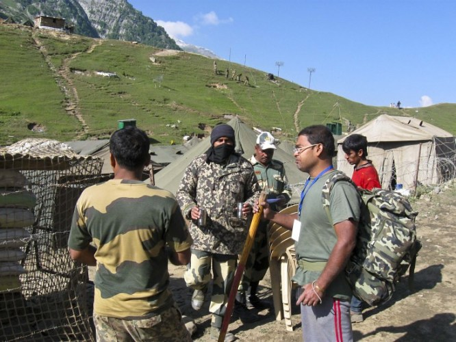 Image result for amarnath yatra indian army