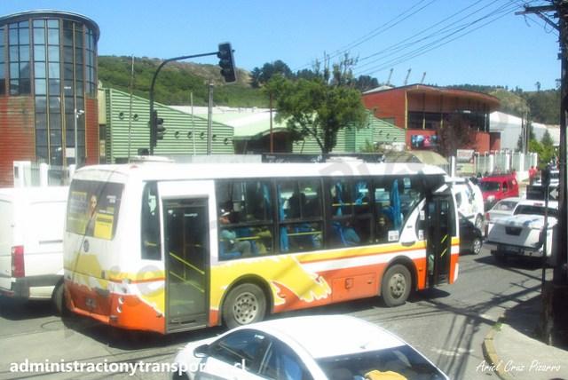 Transportes Chinquihue (Puerto Montt) | Metalpar Ralún / Dong Feng EQ6800KSD3G / FKJW71