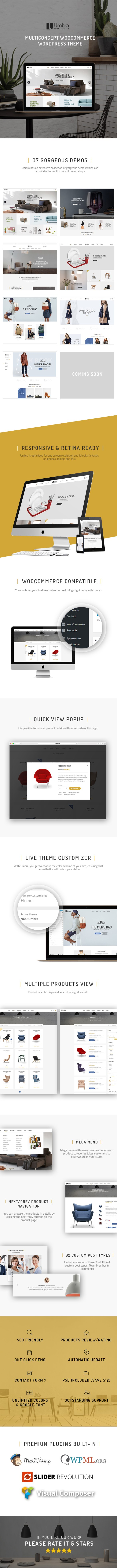 Umbra - Multiconcept WooCommerce WordPress Theme