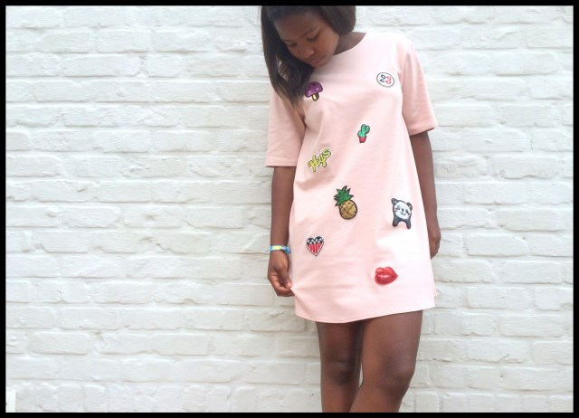 patch dress