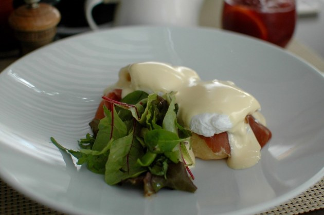 Eggs Benedict - Cafe Liberte