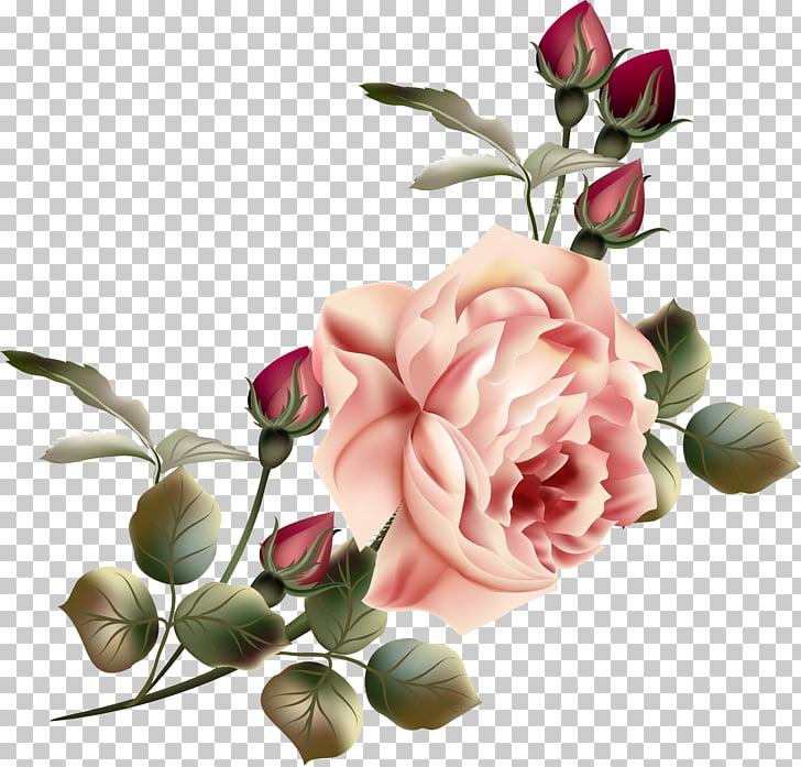 Vintage Pink Flowers Png Wajiflower Co