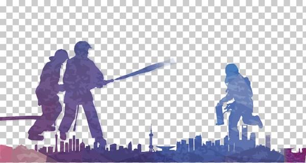 fireman silhouette clip art # 29