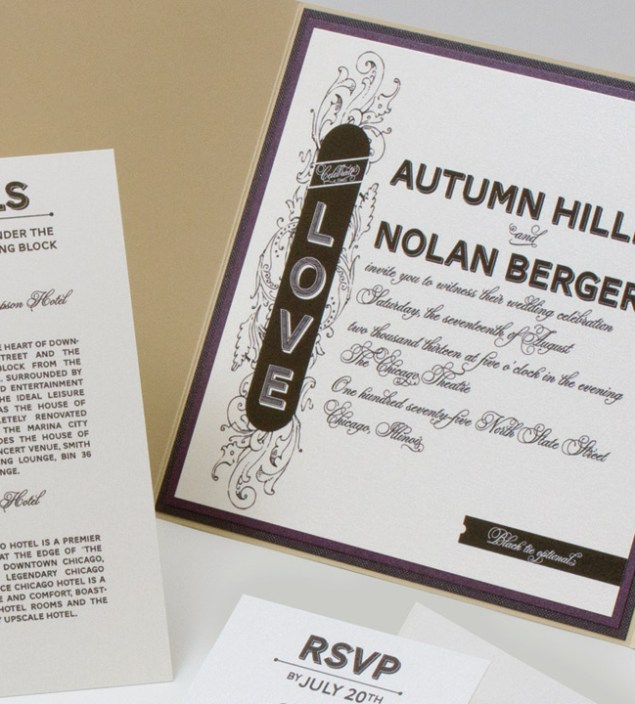 Stylish Papery :: New and Old Collide | Always Elegant Bridal