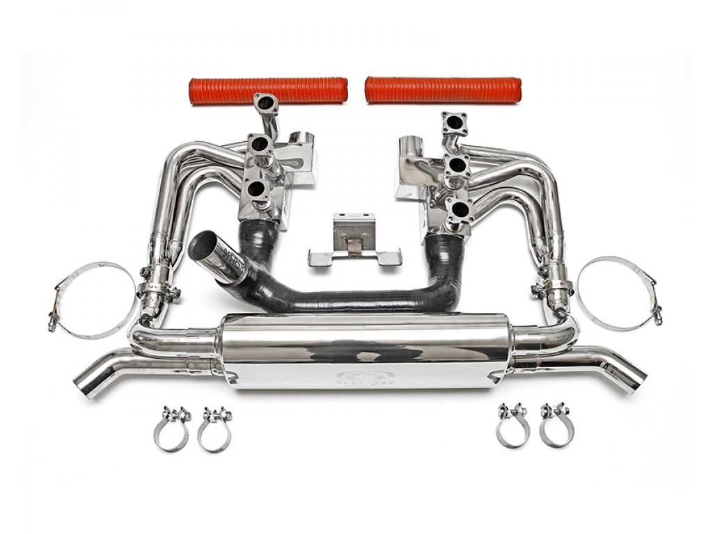 Porsche 911 86 Exhaust Systems And Components Fuel