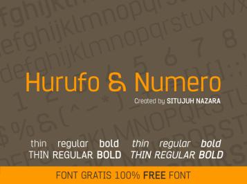 Hurufo & Numero PIC