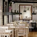 Lamps And Lighting Italian Restaurant Donostia San Sebastian Gipuzkoa Basque Country Spain Europe Stock Photo Alamy