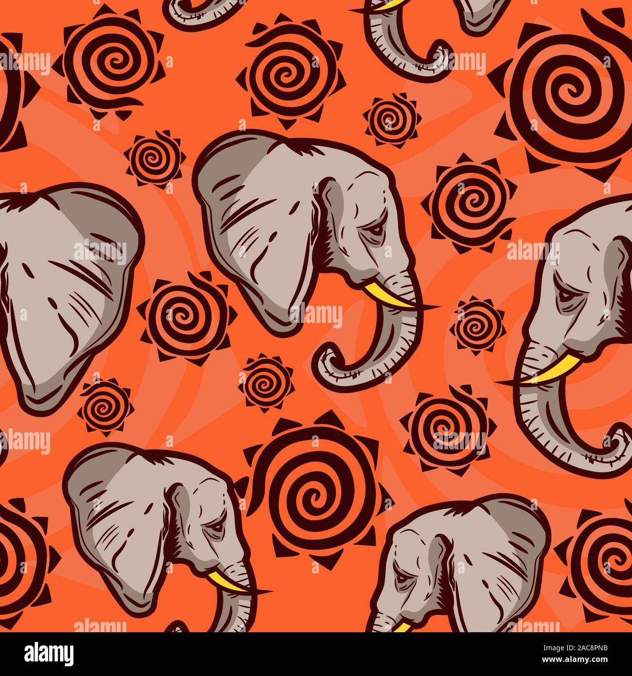 Elephant Motif Stock Photos Elephant Motif Stock Images Alamy