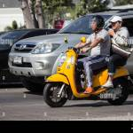 Chiangmai Thailand December 6 2019 Private Honda Automatic Scooter Scoopy I Motorcycle On Road No 1001 8 Km From Chiangmai Business Area Stock Photo Alamy