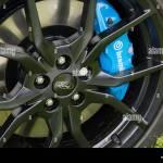 Brembo Brake Caliper Pads On A Car Stock Photo Alamy