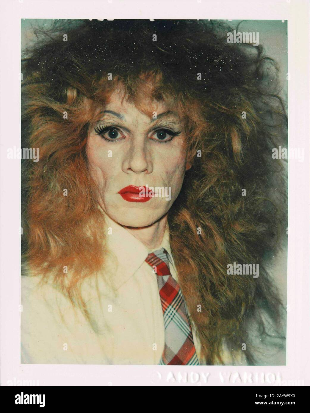Self Portrait In Drag Museum Private Collection Author Andy Warhol Stock Photo Alamy