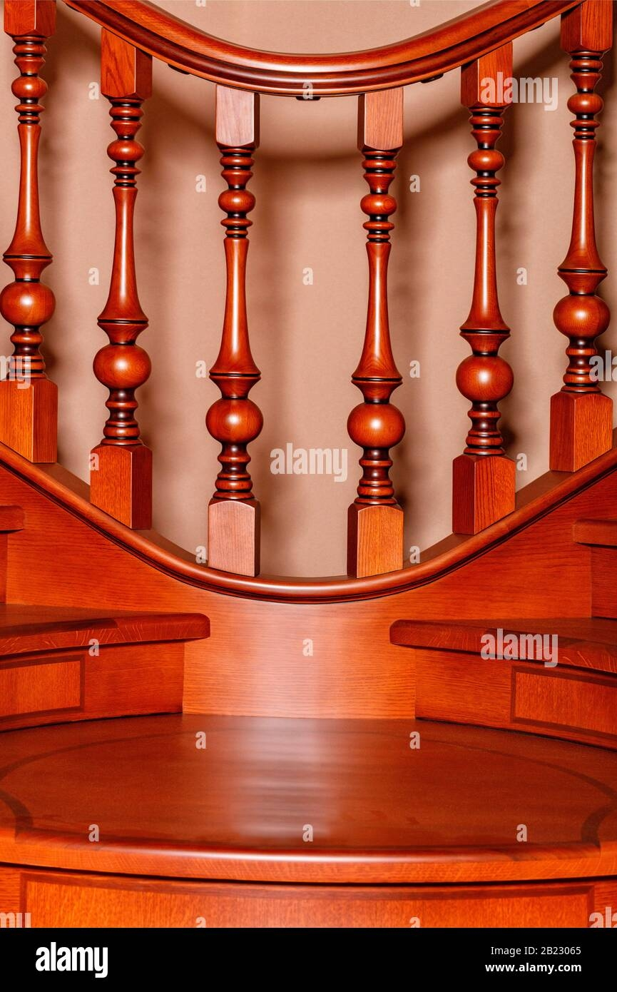 Wooden Stairs Carved High Resolution Stock Photography And Images | Teak Wood Staircase Railings | Wood Frame | Hand | Sitout | Wood Carving | Lakdi