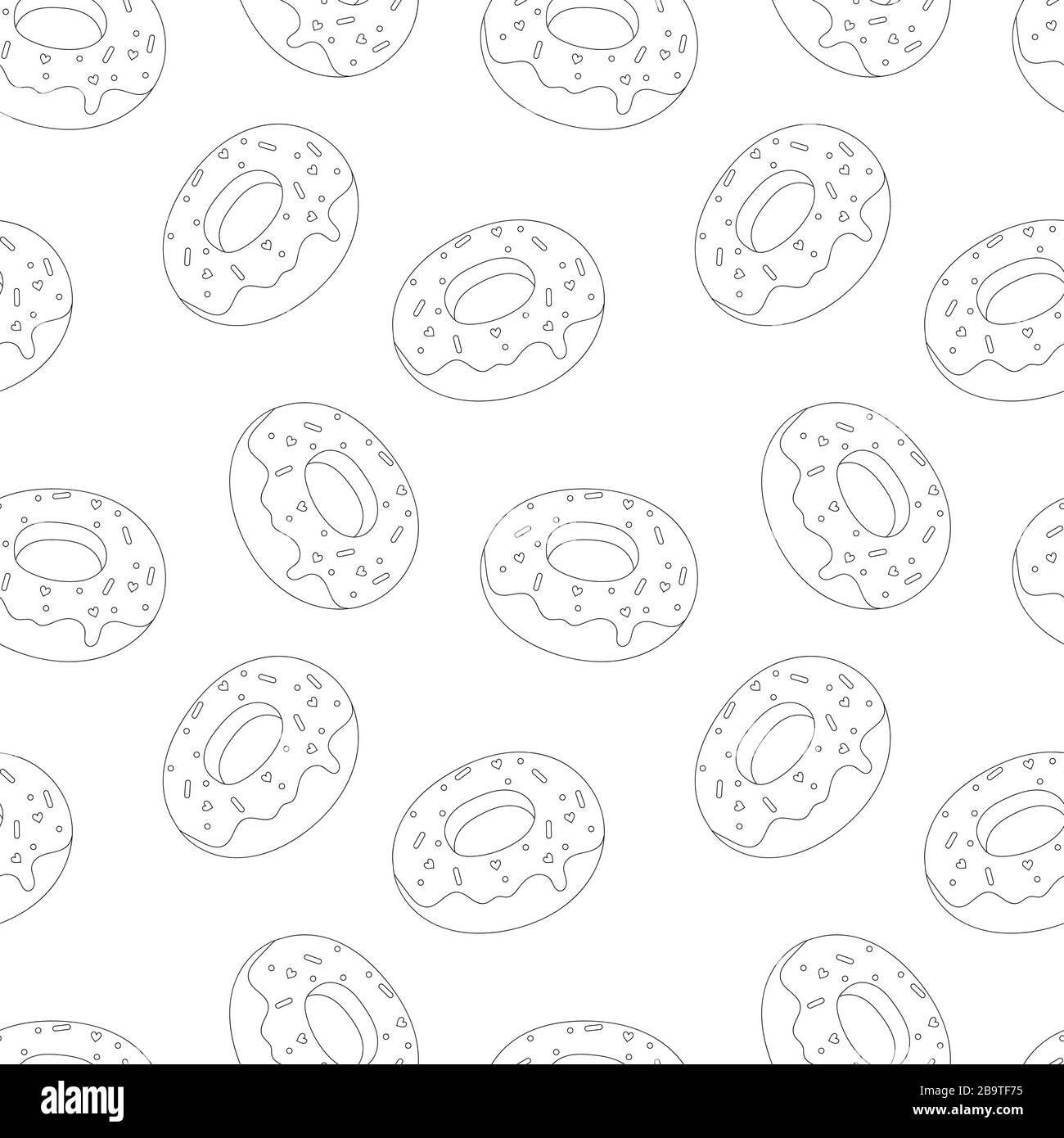 Donuts Black And White Stock Photos Images Alamy