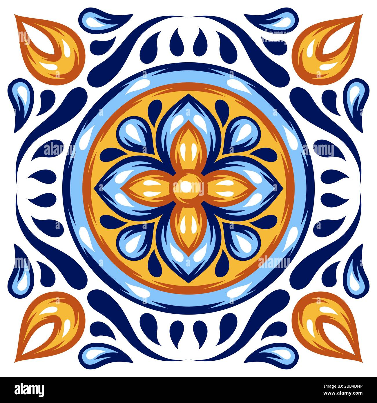 https www alamy com italian ceramic tile pattern mediterranean porcelain pottery image351067186 html