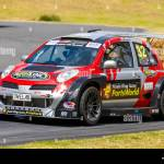 Paul Radisich In His 2004 Nissan March V6 Twin Turbo 650bhp New Zealand Superlap Series Car Stock Photo Alamy