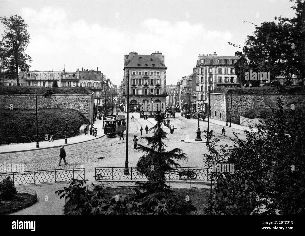 https www alamy com place des portes brest france ca 1890 1900 image359246876 html