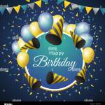 Happy Birthday Banner High Resolution Stock Photography And Images Alamy