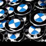 Bmw Luxury Car Logo S Are Pictured Next To The Production Line Of The German Car Manufacturer S