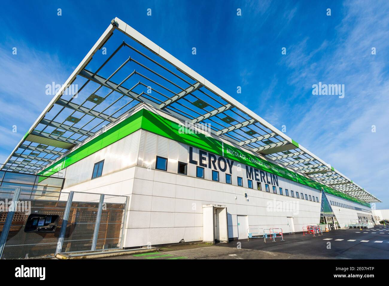 https www alamy com bois darcy france december 30 2020 exterior view of a leroy merlin store an international french retail company specializing in diy image396006150 html