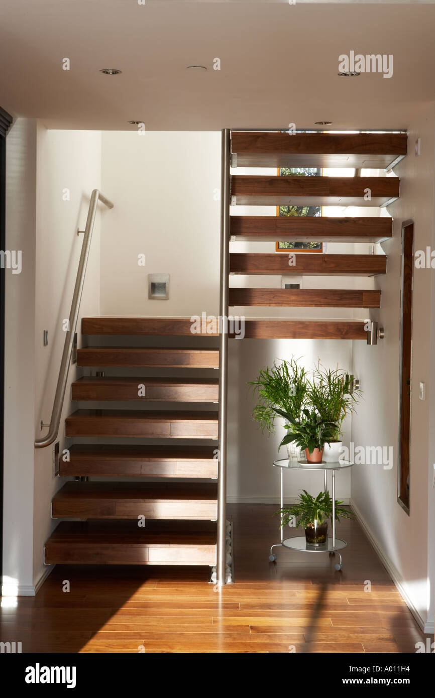 Open Tread Steps High Resolution Stock Photography And Images Alamy | Steps Design Inside Home | Beautiful | Wooden | Ultra Modern | Sala | Behind Duplex