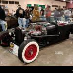 1928 Ford Roadster Pickup Traditional Hot Rod At The 2007 Detroit Stock Photo Alamy