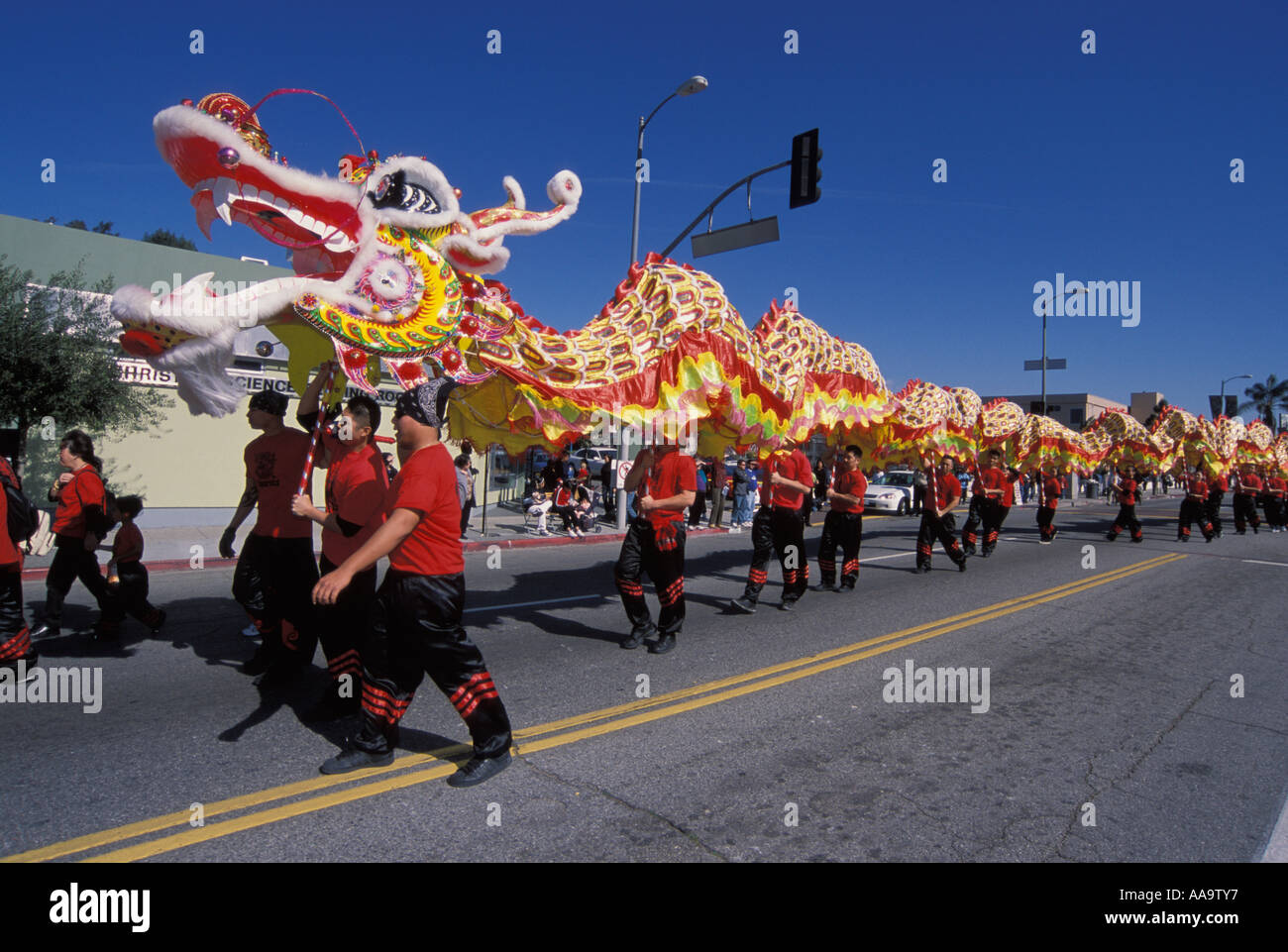 Chinese New Year celebration Hollywood Los Angeles California United     Chinese New Year celebration Hollywood Los Angeles California United States  of America