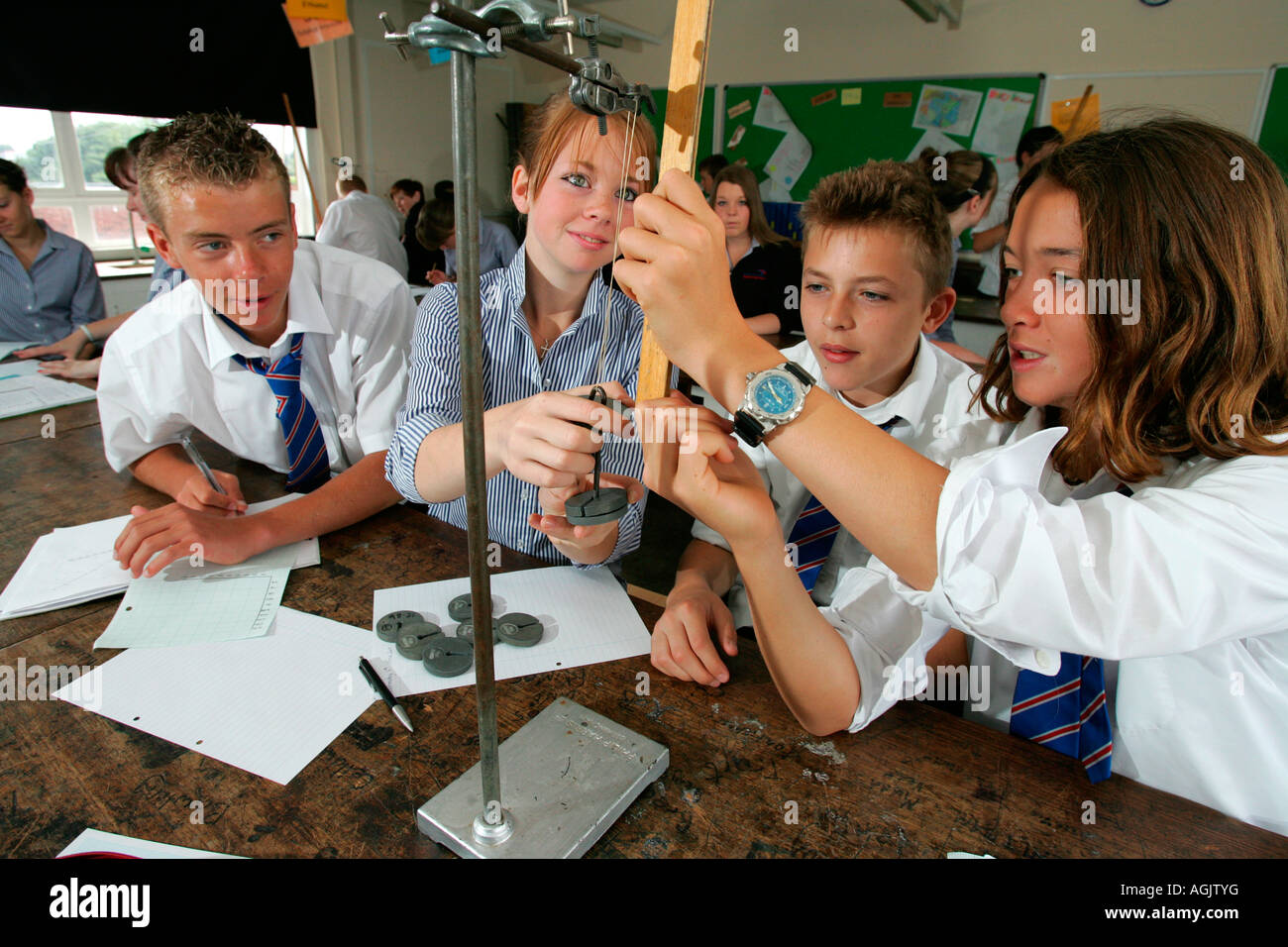 Science Class For High School