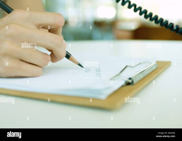 Phone Number Write High Resolution Stock Photography and Images