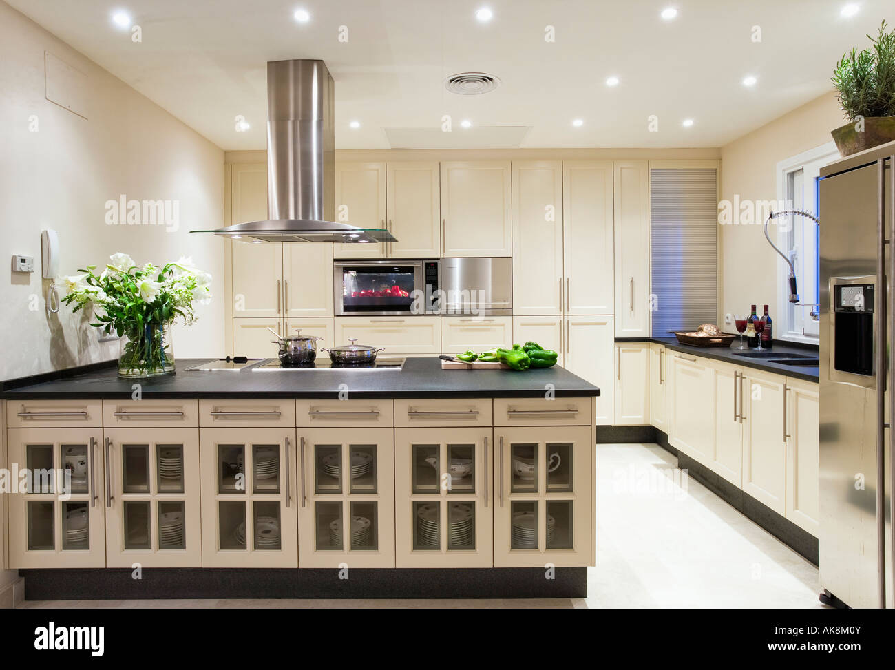 White Kitchen Extractor Hood