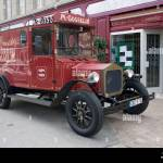 Vintage Delivery Van High Resolution Stock Photography And Images Alamy
