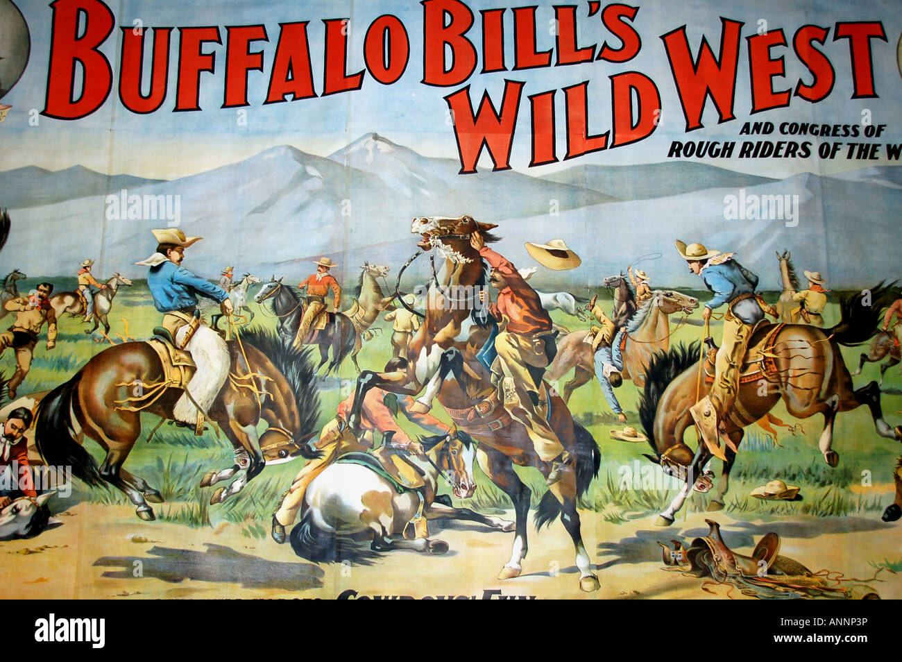 https www alamy com stock photo poster for buffalo bills wild west show at the buffalo bill historical 15571401 html