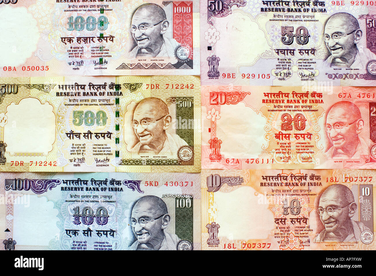 Indian Rupee Notes Stock Photo Royalty Free Image