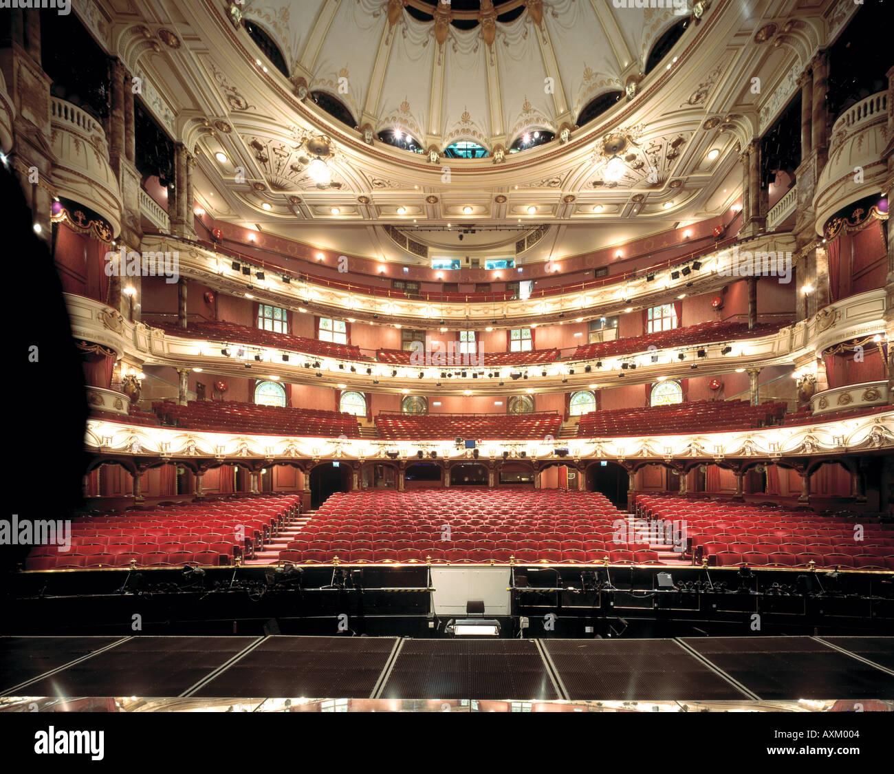 Queen Elizabeth Theatre Floor Plan