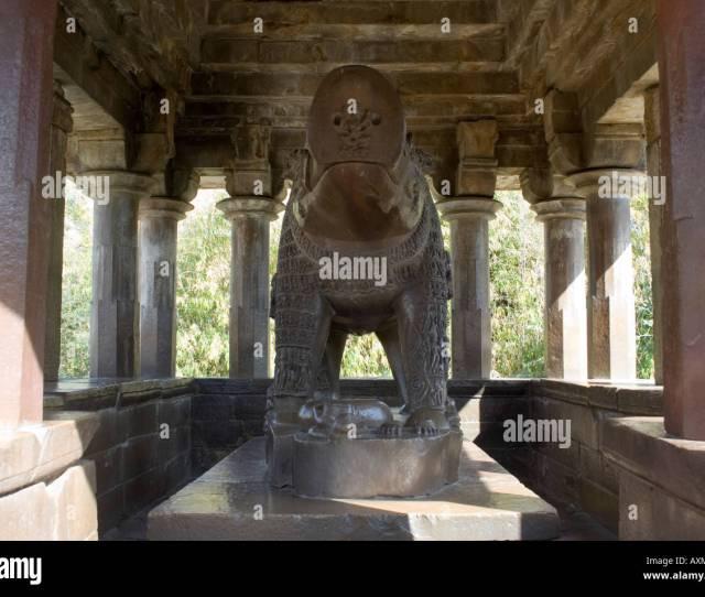 Hundreds Of Deities Figures Carved Huge Statue Of Varah Boar Stock Image
