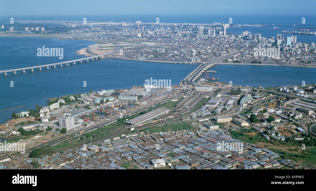 Map of the City of Lagos