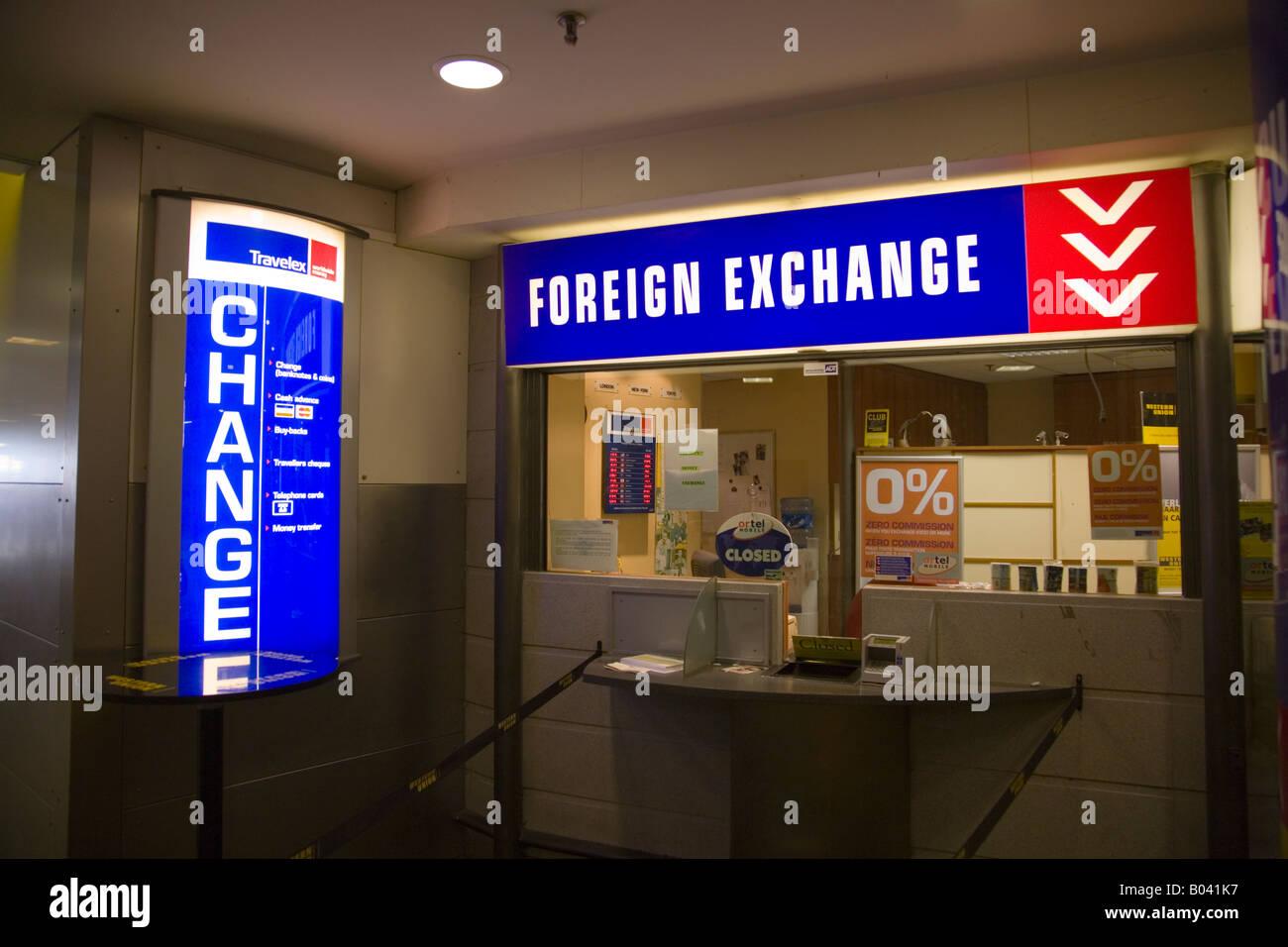 bureau de change at bruxelles midi station brussels belgium
