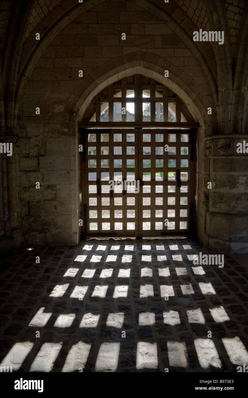 Lancaster Castle Interior England