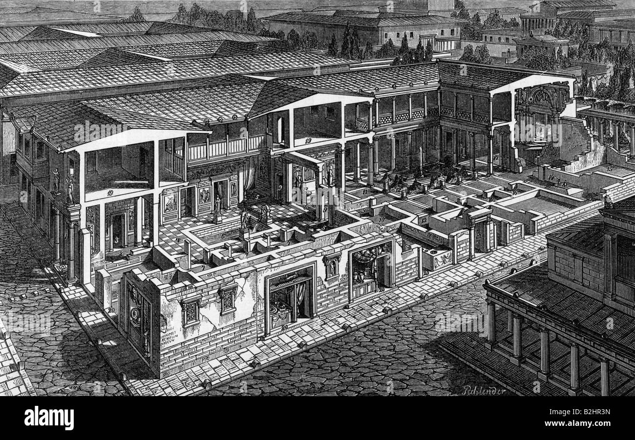 Architecture Ancient World Roman Houses Roman