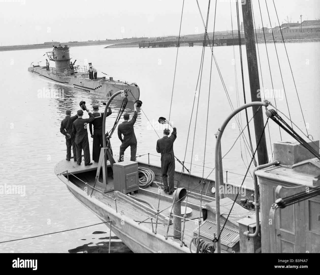 Ww2 German U Boat Submarine First German U Boat To Be