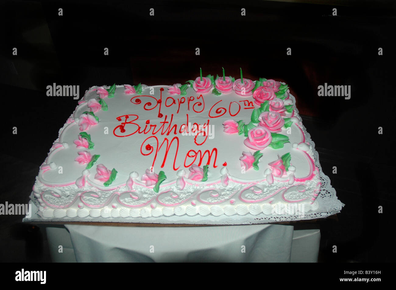 60th Birthday Cake High Resolution Stock Photography And Images Alamy