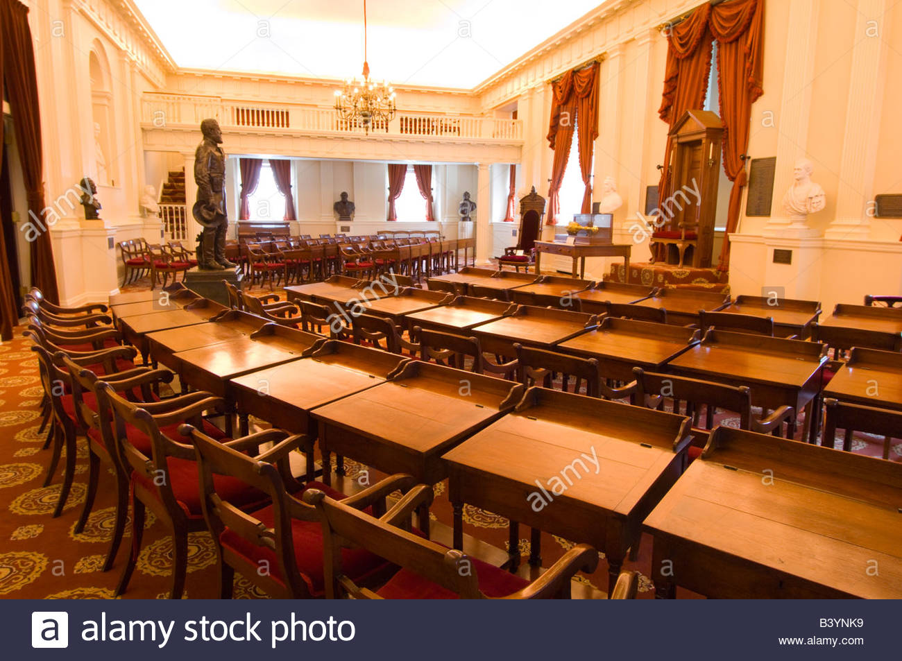 Old House Chamber Virginia State Capitol Richmond Virginia