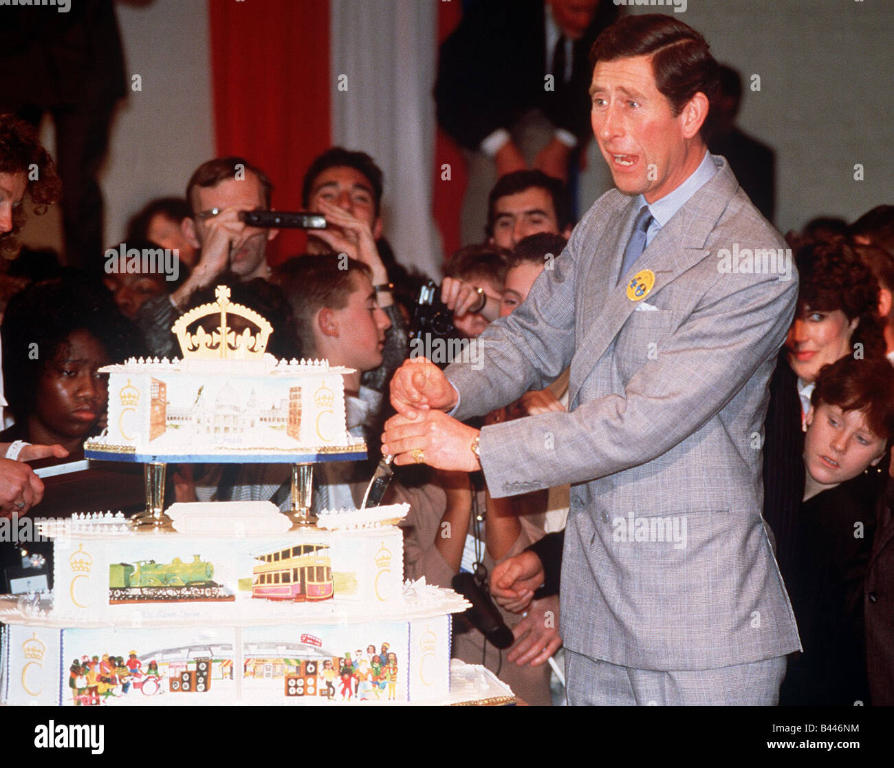 Prince Charles On 40th Birthday High Resolution Stock Photography And Images Alamy