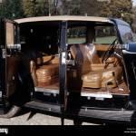 Car Rolls Royce Phantom Iii Model Year 1936 1939 Black Sedan Stock Photo Alamy