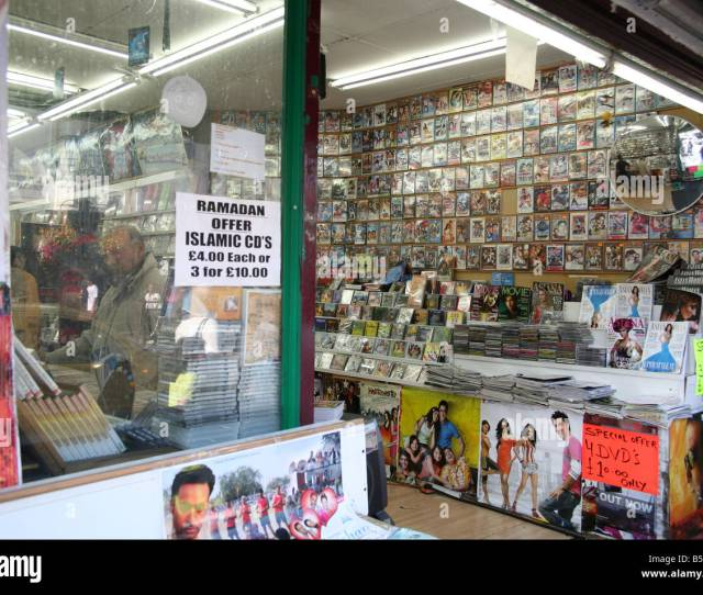 Asian Cd And Dvd Store In Southall London