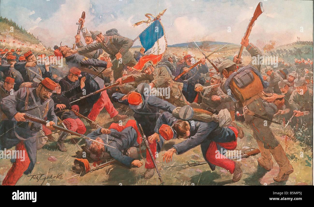 9 10 31 A1 Battles In Markirch Gehrke World War