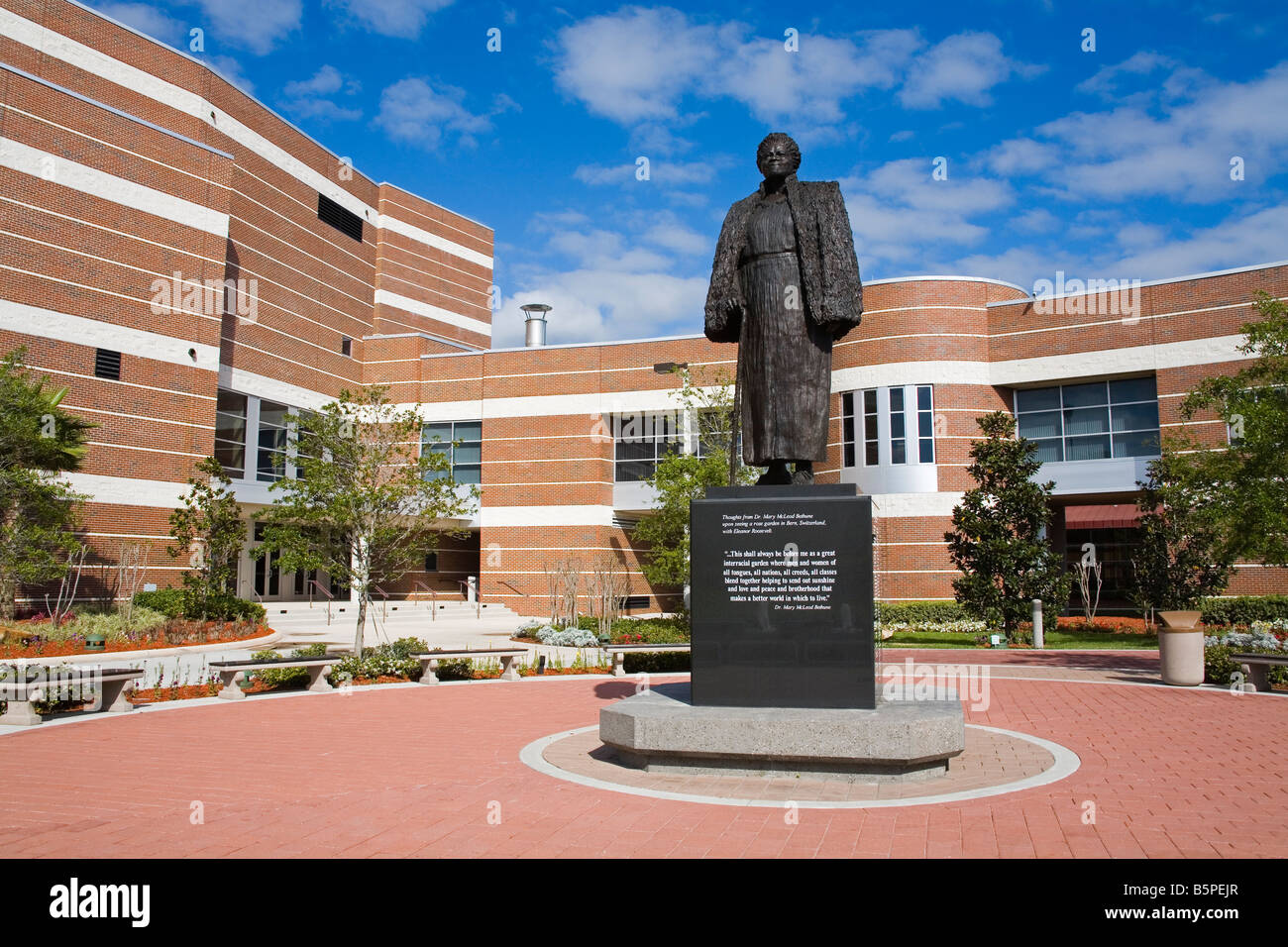 Statue Of Dr Mary Mcleod Bethune Performing Arts Center