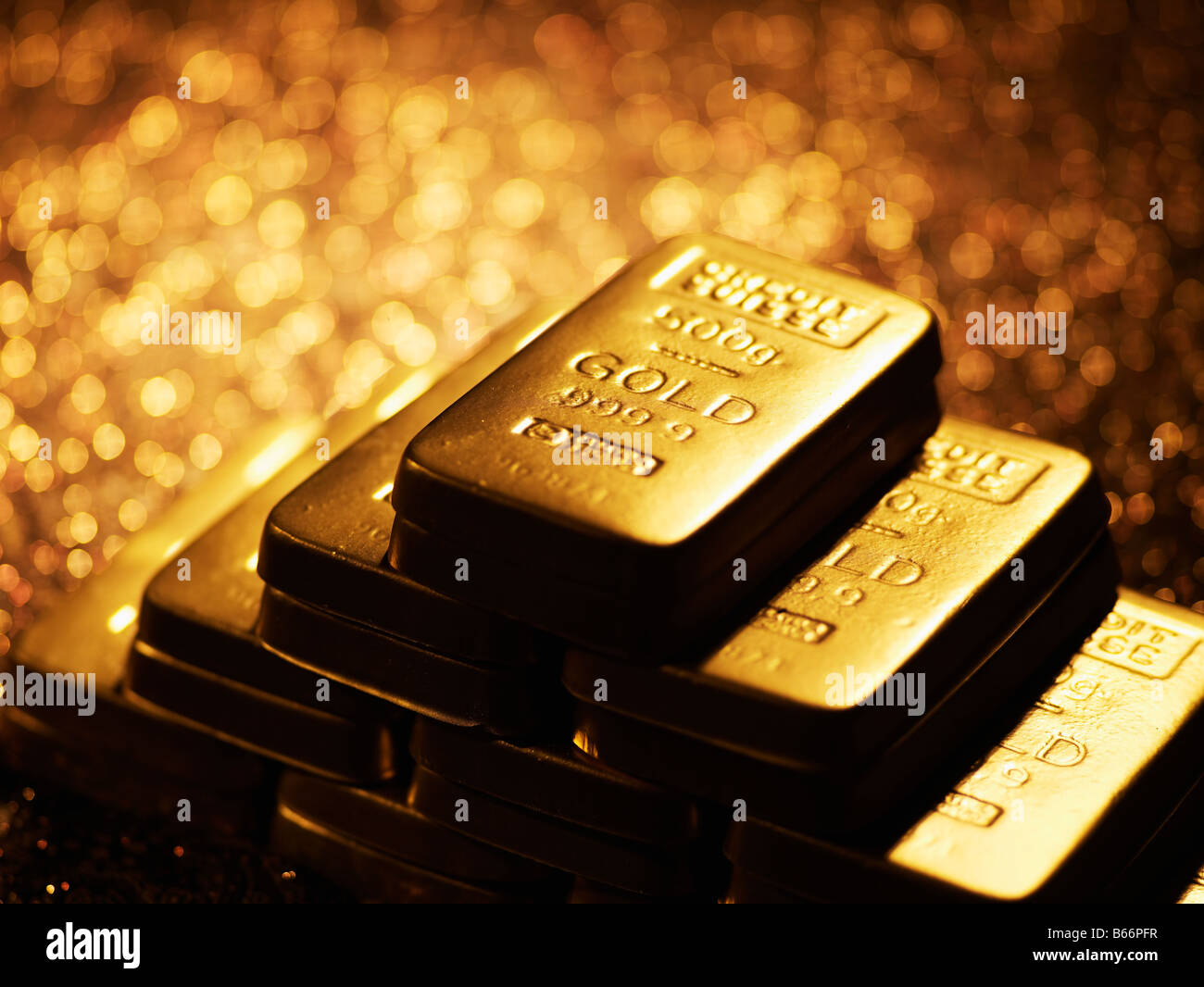 Stack Of Gold Bars High Resolution Stock Photography And Images Alamy