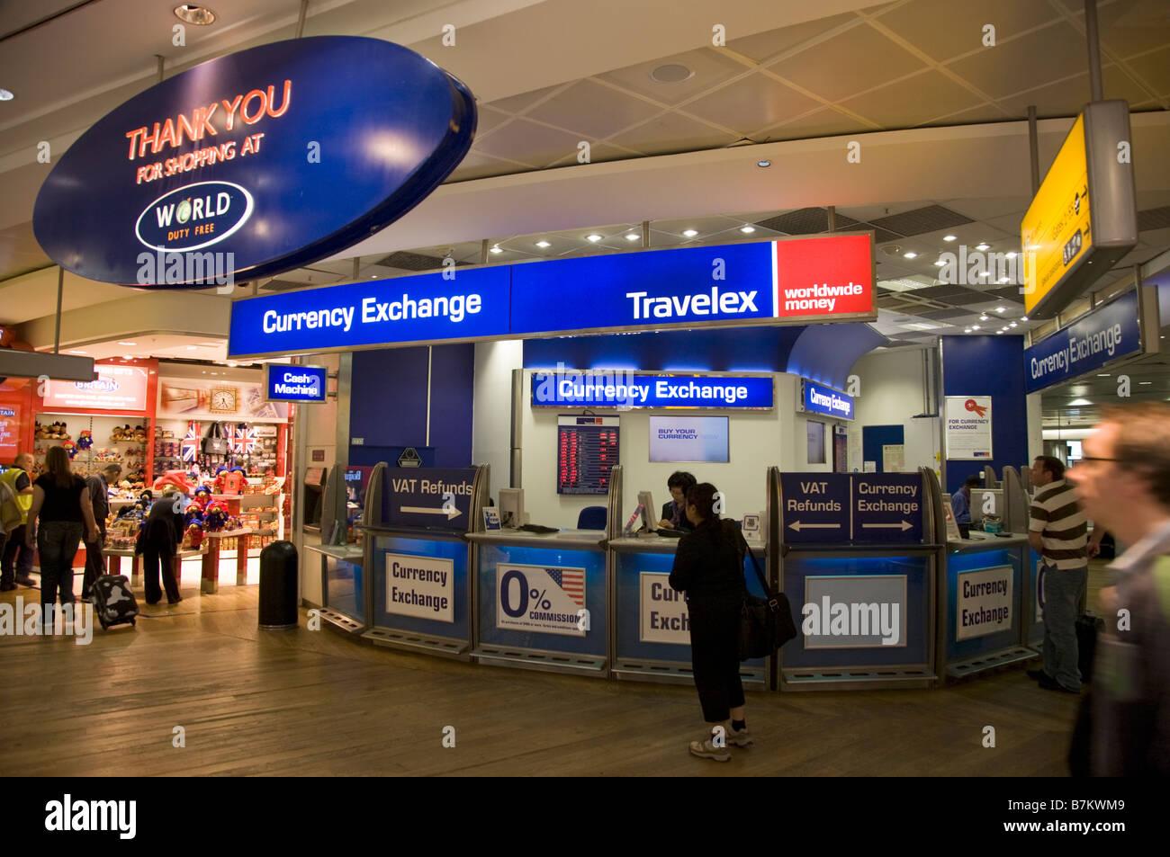Travelex Exchange In Heathrow Terminal 5 Departures