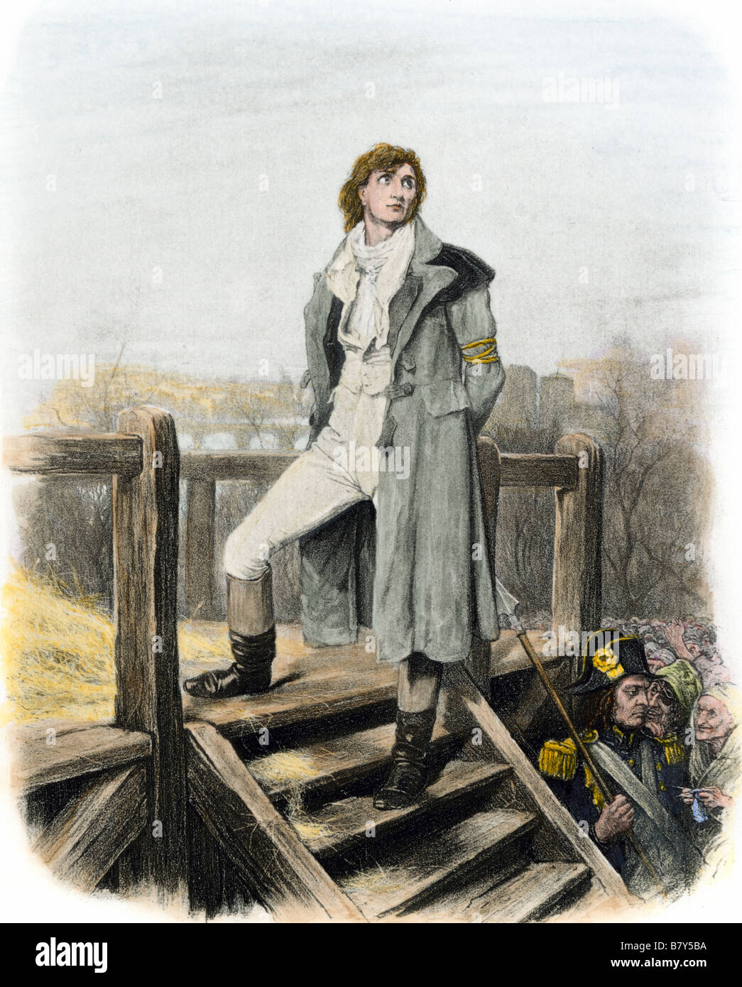 Sydney Carton At The Guillotine In Dickens A Tale Of Two