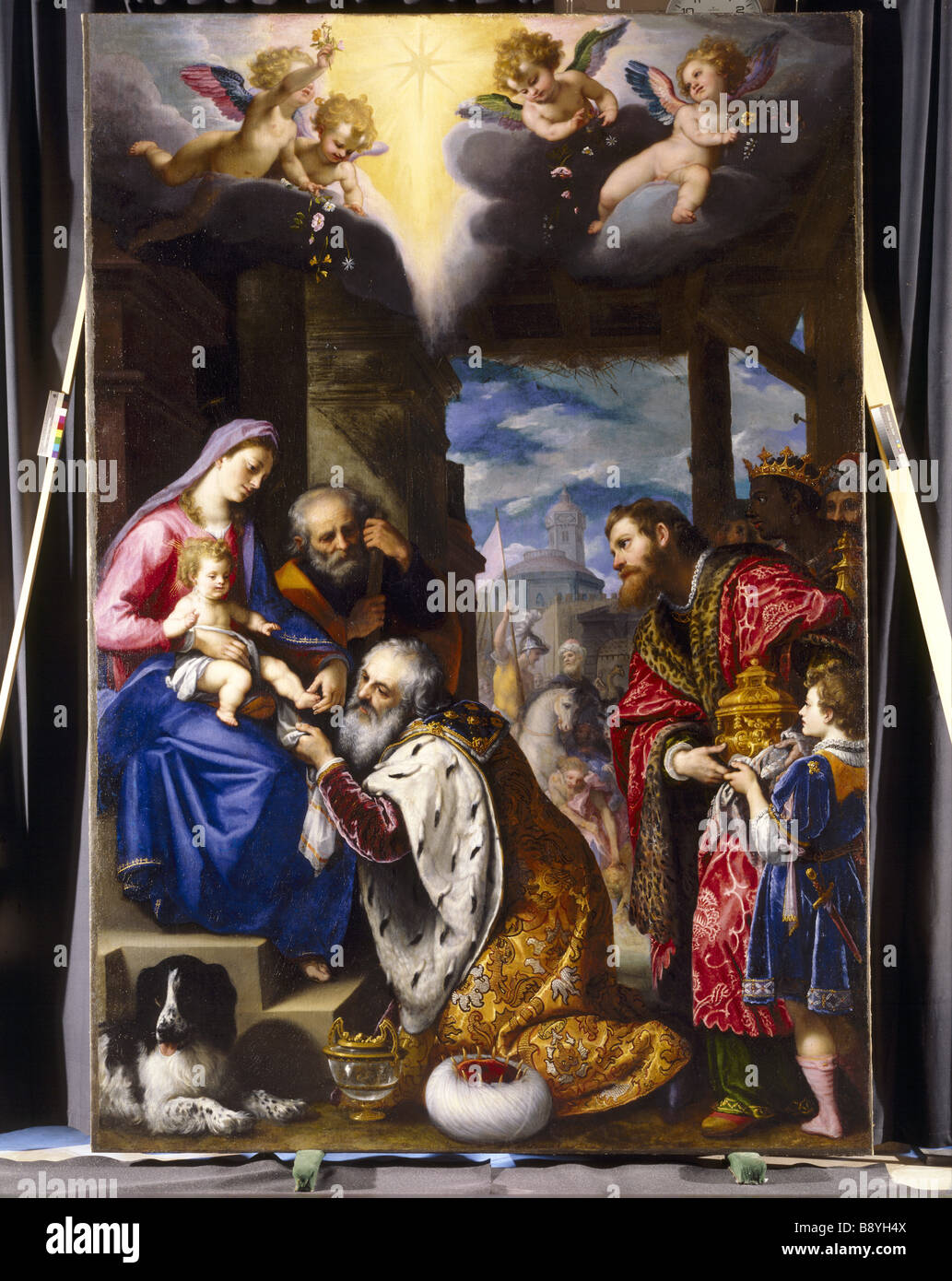 ADORATION OF THE MAGI By Cigoli Signed And Dated 1605 At
